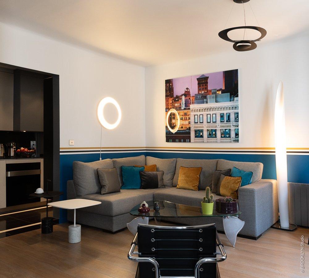 Un appartement pour voir la vie en bleu